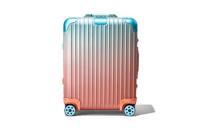 リモワとアレックス・イスラエルがコラボ 新作スーツケース「RIMOWA x Alex Israel」が登場