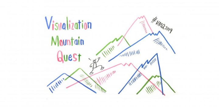 情報の可視化について考えるワークショップ 「ビジュアリゼーション マウンテン クエスト」が開催