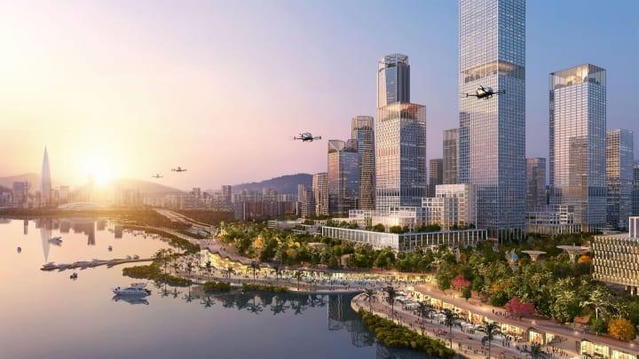 深圳をウォーターフロントにするプロジェクト ヘニング・ラーセンが提案する「Shenzhen Bay Headquarters …