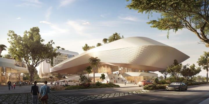 インド・バンガロールに建設中の「Karle Town Center」 健康、⽂化、庭園を3本柱にしたイノベーションテッ…