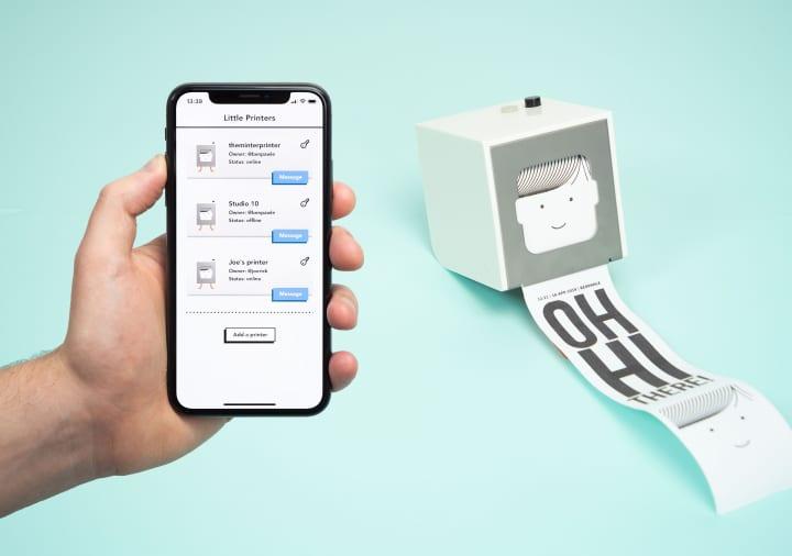 小型サーマルプリンタ「Little Printer」が復活 楽しいコンテンツやメッセージ・画像を簡単に送信