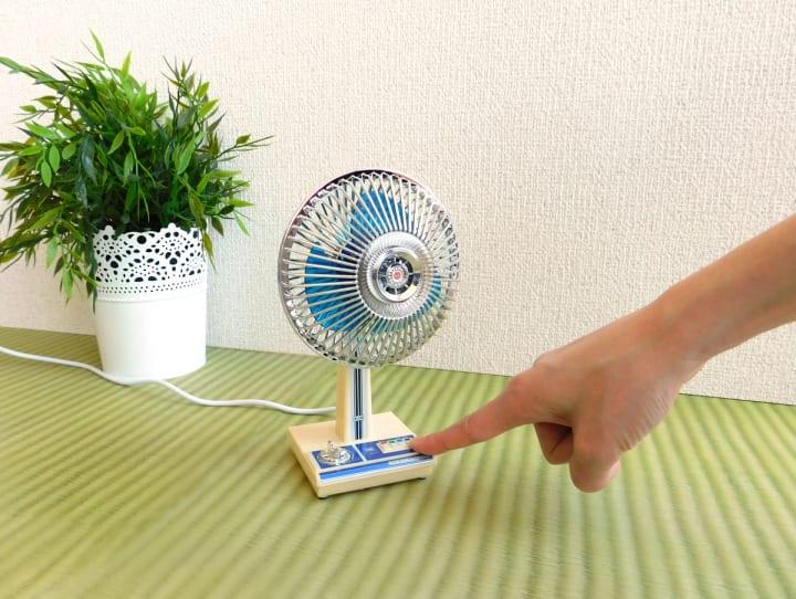 ミニチュア昭和家電ガジェット「ザ・昭和シリーズ」 懐かしい風を感じる「昭和扇風機」が登場!