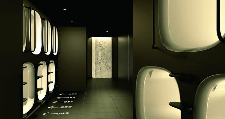 カプセルホテル「ナインアワーズ」が九州地区に初出店 「ナインアワーズ中洲川端駅」がオープン