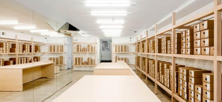 アメリカのシューズブランド「FEIT」の新店舗 Jordana Maisieが従来のシューズショップを再解釈