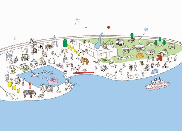 横浜「象の鼻パーク」「象の鼻テラス」が10周年 記念企画「フューチャースケープ・プロジェクト」が開催