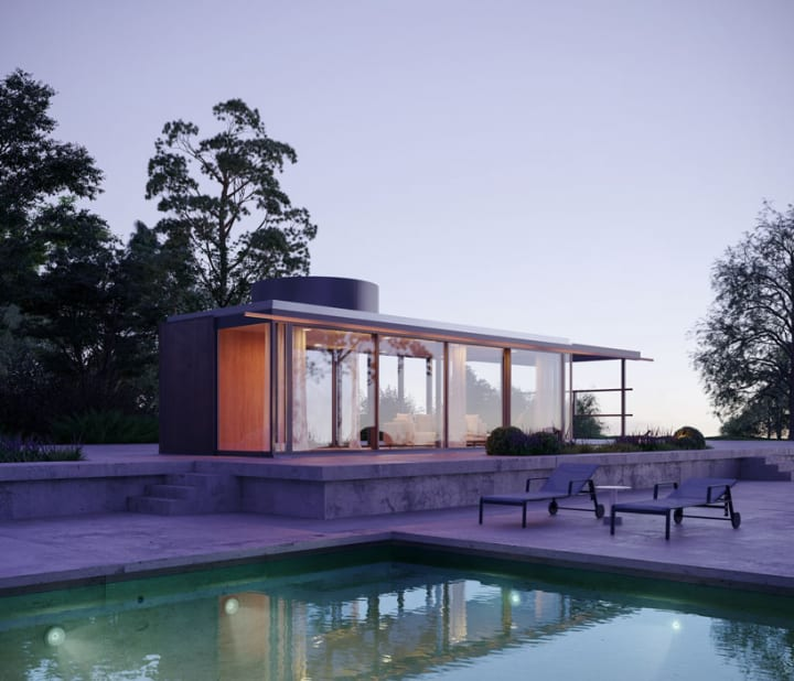 リチャード・ノイトラの建築を再現 ファニチャーブランド Kettalが「VDL Pavilion」を制作