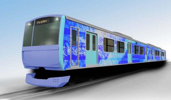 JR東日本が水素をエネルギー源とした試験車両を製作 実使用環境下での走行試験などを実施
