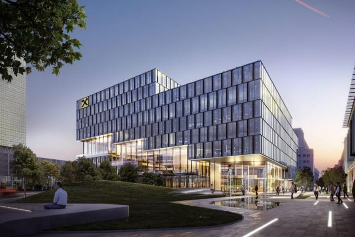 ガンター・ヘンがリンツで手がける「RLB Campus '25」 開放性、柔軟性、多機能性を備えた地元銀行の新しい…