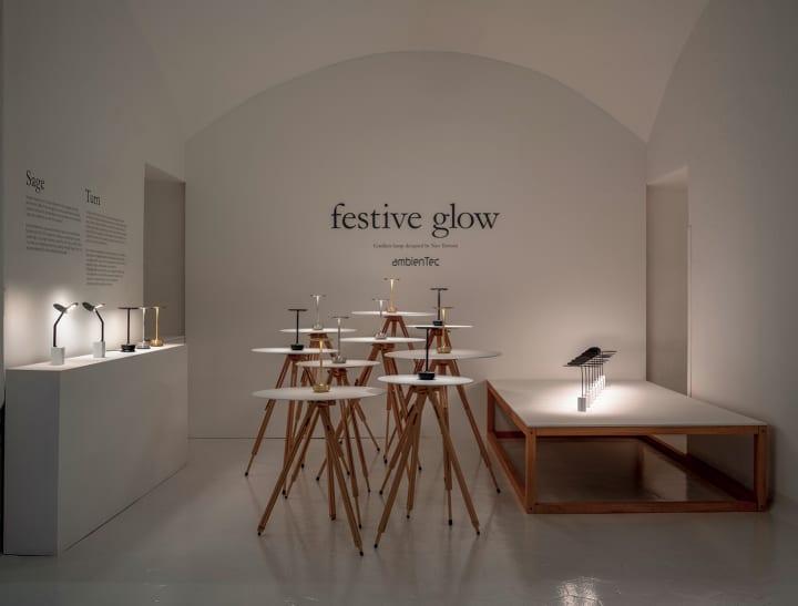 暮らしのなかの「光」を問い直す、 デザイナー田村奈穂 × アンビエンテックがミラノで見せた ふたつの照明…