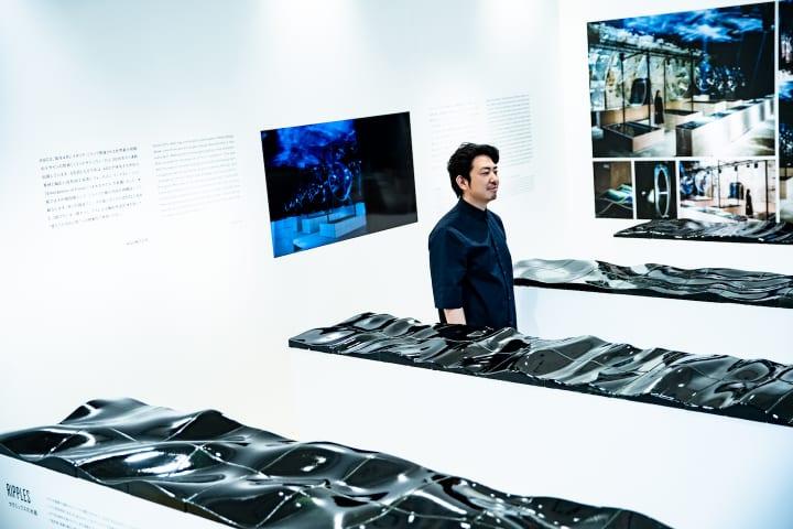 世界が注目する、日本の素材と技術。 AGCの特性を引き出したプロダクトデザイナー鈴木啓太氏の構想