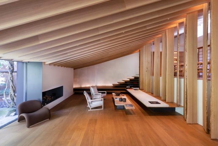 隈研吾建築都市設計事務所が高田賢三のパリの自邸を改装 フランス人企業家のための住宅+レストラン「KENZ…