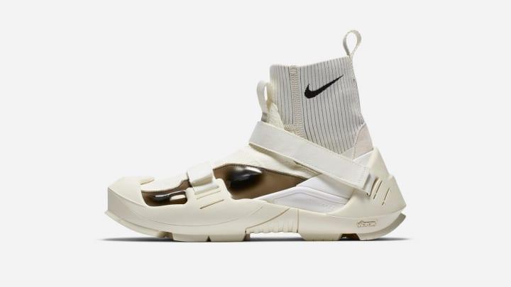 ナイキとマシュー・M・ウィリアムズのコラボシューズ 登山靴のアウトソールを備えた「Nike x MMW Free TR …