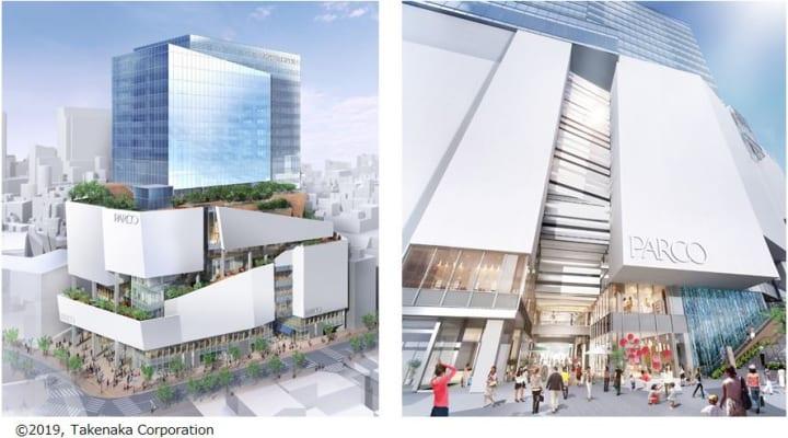 次世代型商業施設「渋谷PARCO」2019年11月下旬オープン 2020年3月にはPARCO劇場も誕生