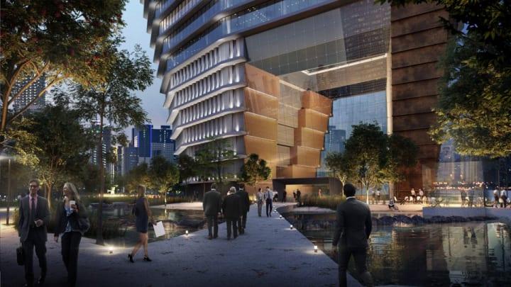 ロン・アラッドによる新しい建築 せまい敷地に建てる広々とした高層タワー「ToHA」