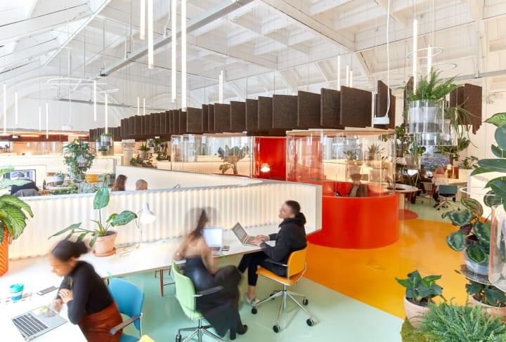 ロンドンのワークスペース「Second Home」 仕事と生活のバランスを目指して保育施設を完備