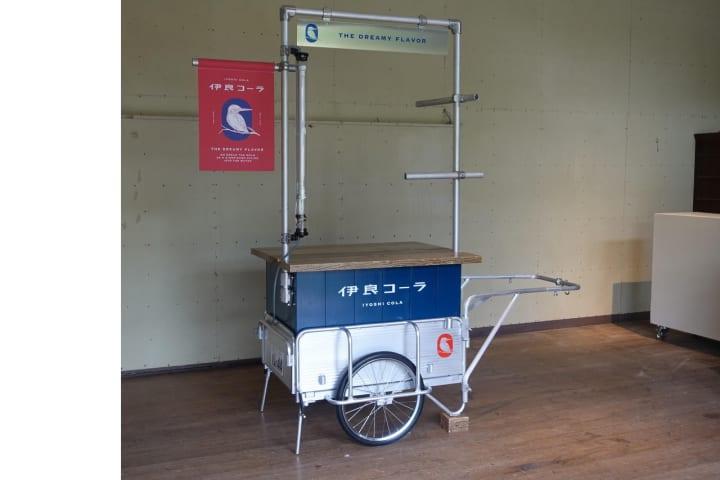 世界初クラフトコーラ専門メーカー「伊良コーラ」 出前リヤカー「コカワセミ号」が原宿へ出動しゲリラ販売…