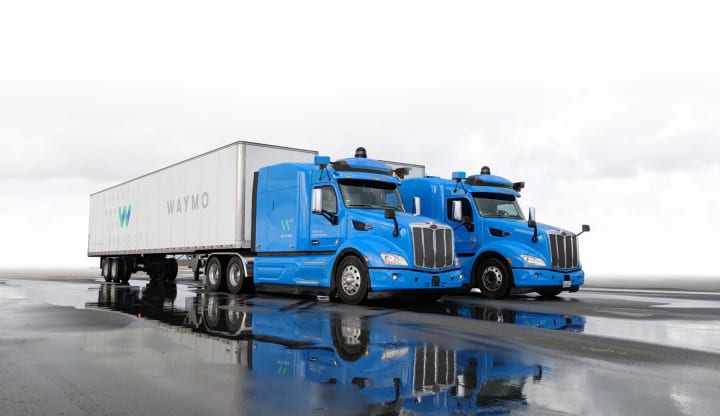 Alphabet傘下の自動運転車開発企業「Waymo」 米フェニックスで自動運転トラックの試験走行を再開