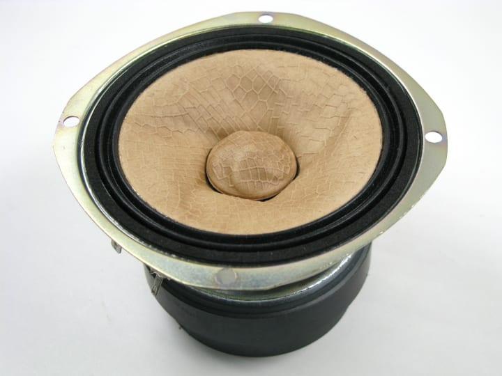 オンキヨーが自然素材にヒントを得た 「バイオミメティクス」振動板を採用した高音質スピーカーを開発