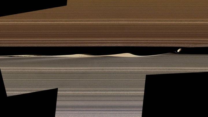 土星の環はまだまだ謎が多い!? 土星探査機「カッシーニ」がとらえた画像の解析が進む