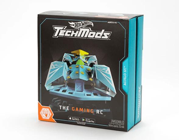 ホットウィールから「Hot Wheels TechMods Accelo GT」が登場 ラジコンとデジタルゲームが楽しめるレース…