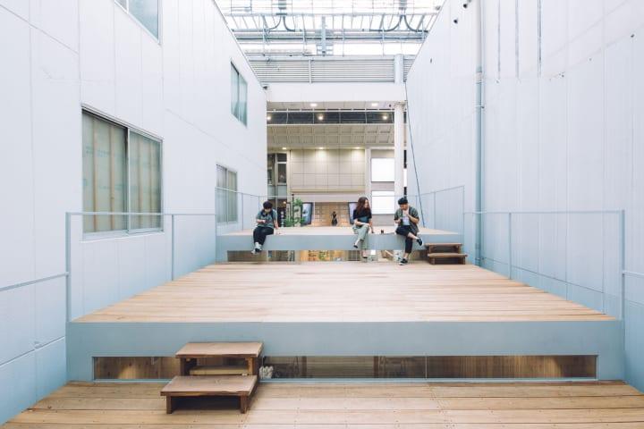 熊本市上通アーケード内に「オモケンパーク」がオープン ソーシャルデザインを目的とした地域拠点