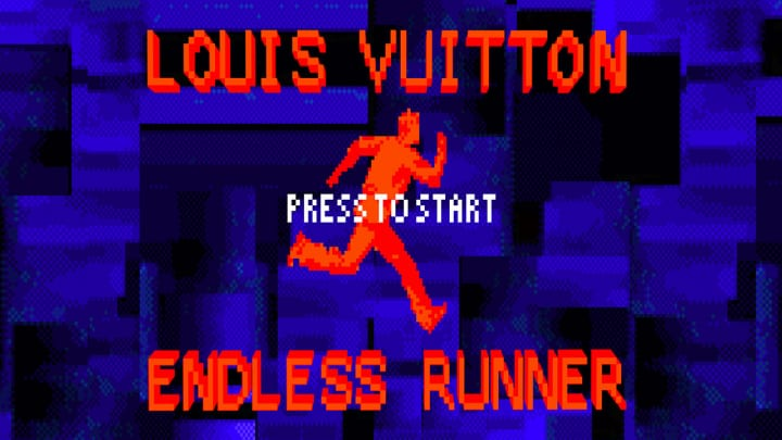 ルイ・ヴィトンからレトロなオンラインゲームが登場 1980年代の世界観やニューヨークの街並みを再現