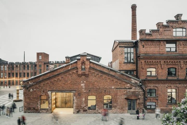 サンクトペテルブルクの再開発プロジェクト「Sevkabel PORT」 歴史ある既存の工場を尊重しながら改修