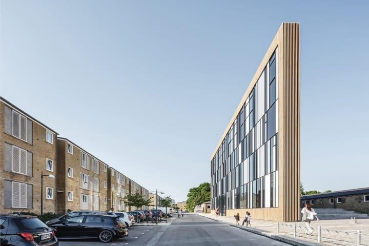コペンハーゲンにオープンした「Tingbjerg Library and Culture House」 建築家 ラスムッセンによる都市設…