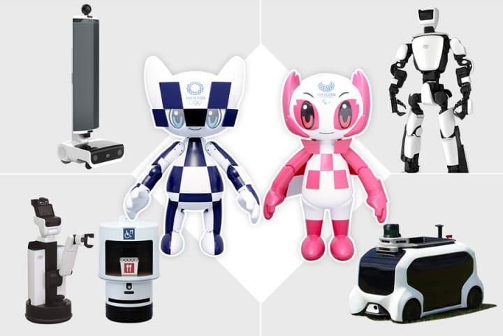トヨタ自動車が東京2020オリンピック・パラリンピックを サポートするさまざまなロボットを公開