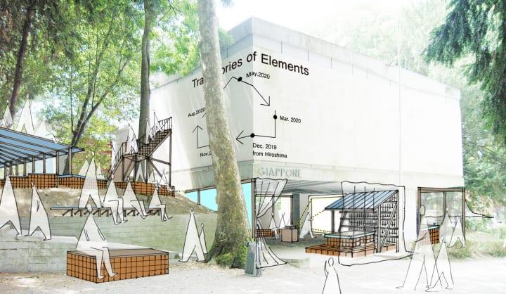 第17回ヴェネチア・ビエンナーレ国際建築展 日本館展示 「エレメントの軌跡――建築の生産の連鎖をデザイン…