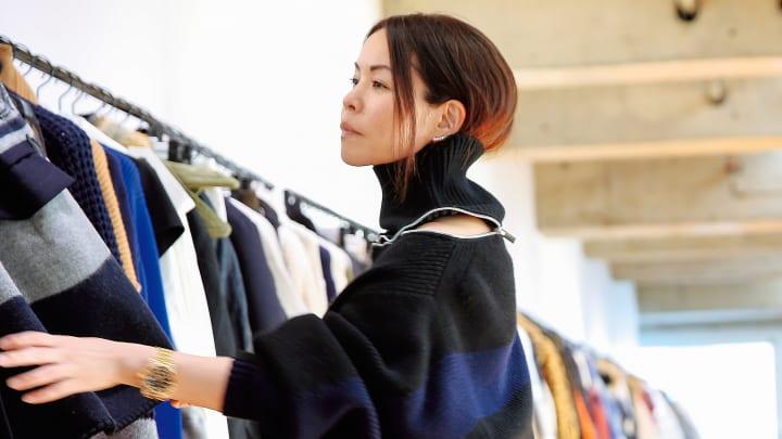 ファッションデザイナー阿部千登勢(サカイ)が銀座に感じる「日本のデザイン」