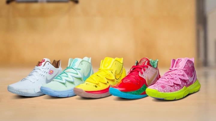 ナイキからスポンジ・ボブとコラボした愉快なコレクション Nike Kyrie x SpongeBob SquarePants Collectio…