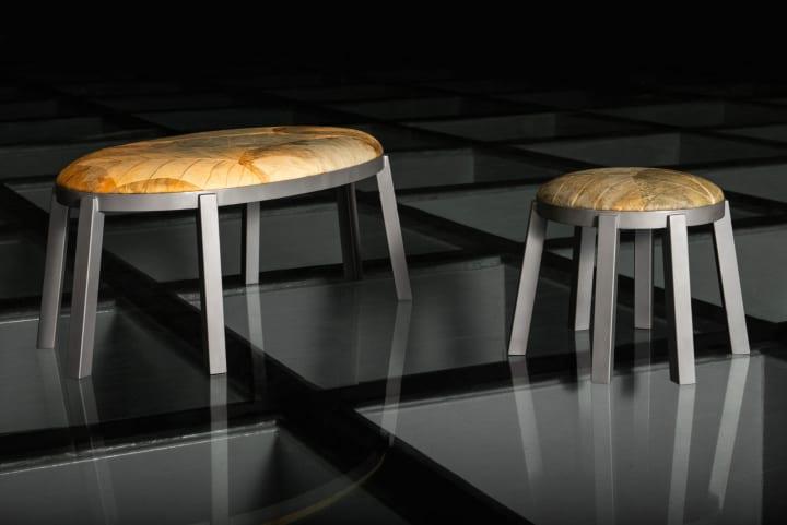 ブラジルのデザインデュオ Furf Design Studioによる 植物の葉を革にした世界初のチェア・コレクション「O…