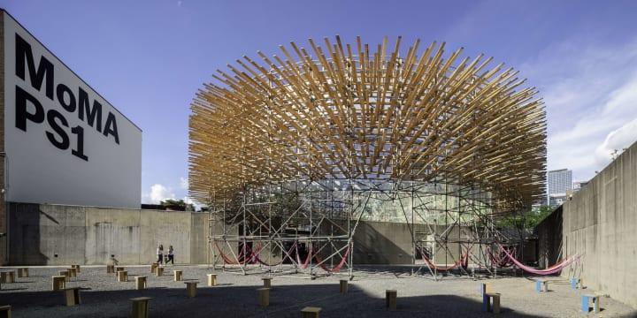 メキシコシティの建築スタジオ Pedro&Juanaの「Hórama Rama」 MoMA PS1の「Young Architects Program…