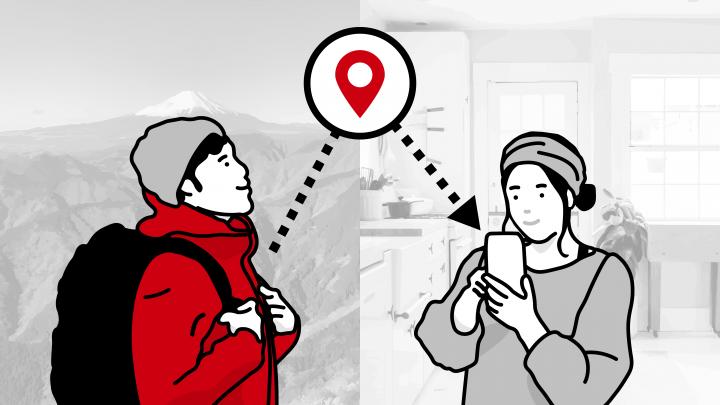 登山アプリ「YAMAP」が電波の届かない場所でも スマホだけで現在地を共有できる新機能をリリース