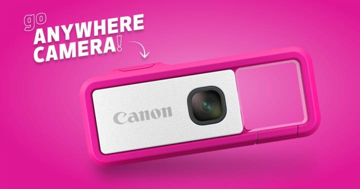 Canon USAが新型クリップカメラ「Canon IVY REC」の クラウドファンディングをIndiegogoで予告
