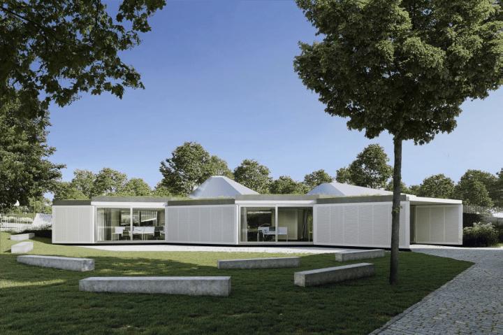 チェコの建築設計事務所 CHYBIK + KRISTOF 新しいモジュラー建築システムを開発