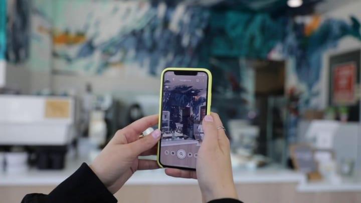 サンフランシスコのスタートアップ Wescover Google Lensを使ったアート作品マップを作成