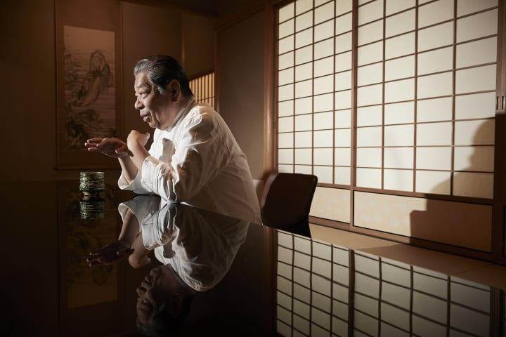 和食を世界に知らしめた立役者、京都の料亭・菊乃井の村田吉弘。「日本料理は盆栽でなく大木にすべき」
