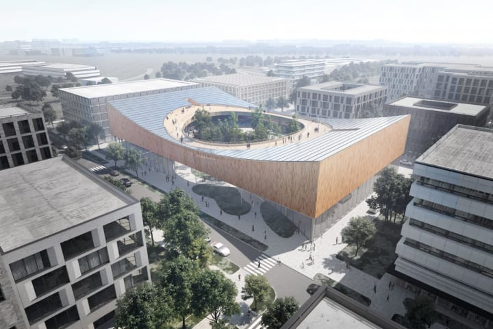 スウェーデン・ルンドの新しい科学博物館 完全なカーボンニュートラルを目指すCOBEのデザイン