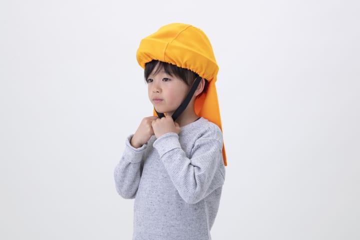 21世紀の防災頭巾「でるキャップ」から 子供向けの新シリーズが登場