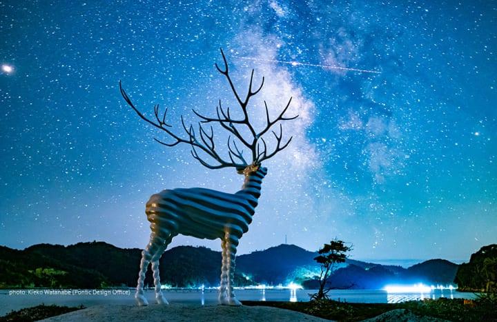 牡鹿半島と石巻市街地を舞台に「Reborn-Art Festival」が開催 WOWが新作インスタレーション「Emerge」公開