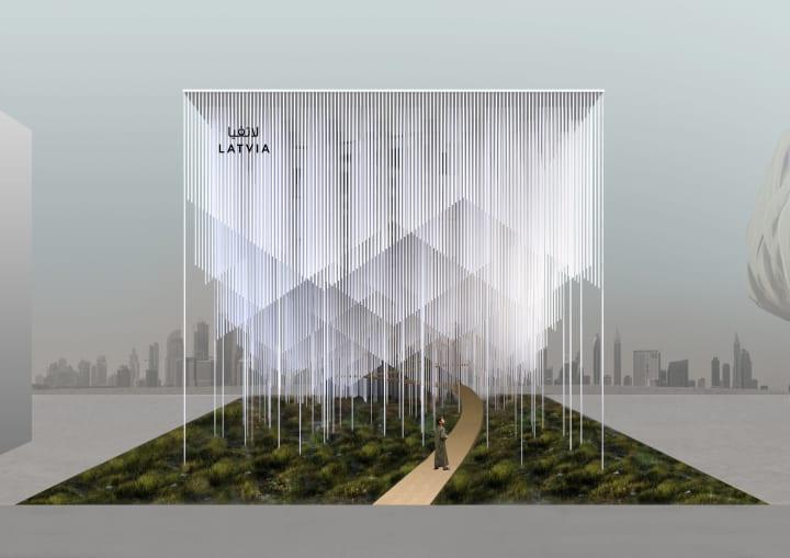 ドバイ万博のラトビア館のデザイン案が決定 「音」を通じてラトビアの自然や文化を体験