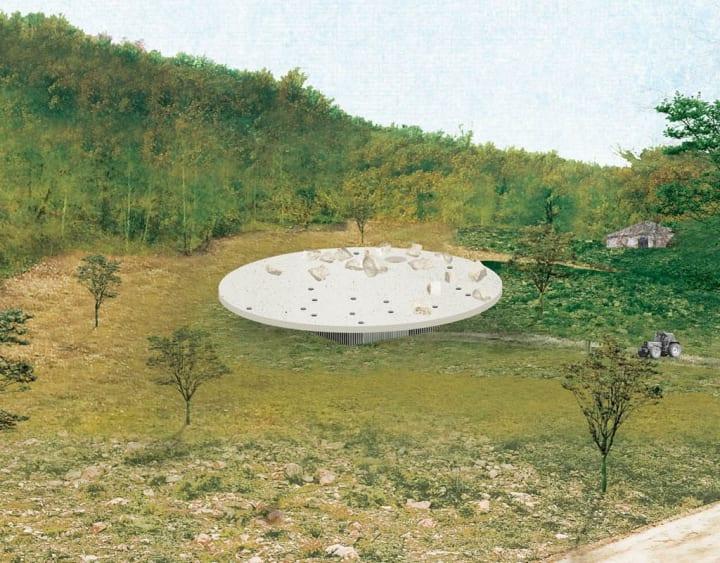 OFFICE KGDVSが設計するオリーブオイル製造施設 伊トスカーナの世界遺産も眺められる斬新なデザイン