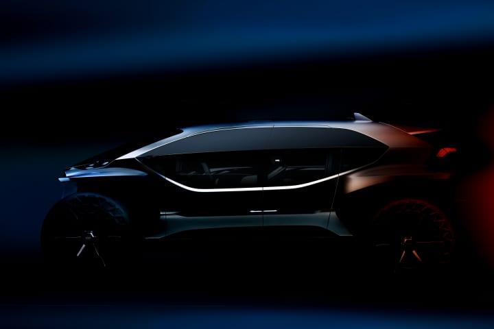 アウディがコンセプトカー「Audi AI:TRAIL quattro」を初公開 コンセプトカー・シリーズの最後を飾る未来…