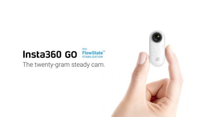 世界最小の手ブレ補正搭載カメラ「Insta360 GO」登場 どこにでも装着して決定的イベントは逃さない!?