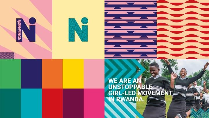 ルワンダの若い女性を支援する組織「Ni Nyampinga」 Studio Outputがデジタル化に向けてリブランディング