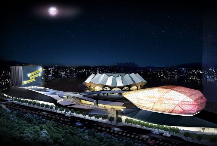 RUR Architecture DPCによる「Taipei Music Center」が完成間近 ウォームアップイベント「Taipei Music Co…