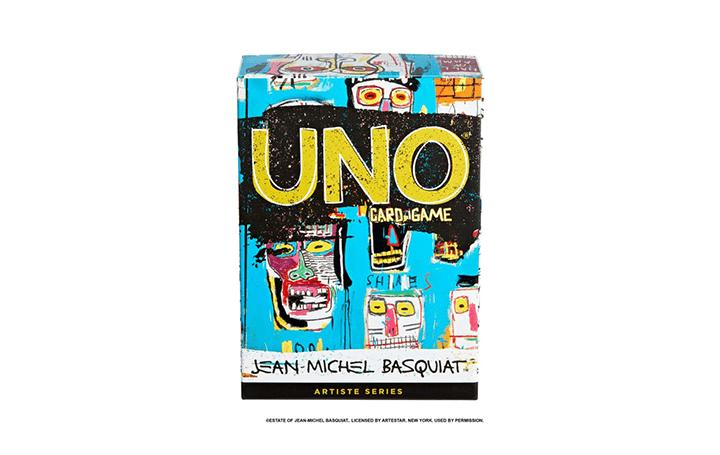 玩具メーカー マテルから「UNO® Artiste Series」が登場 第1弾アーティストはジャン=ミシェル・バスキア