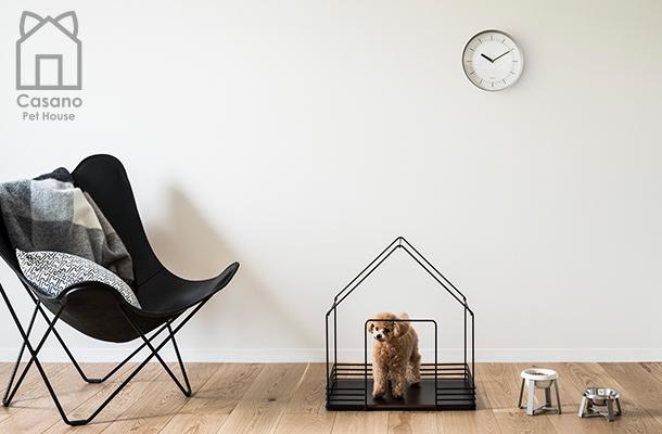 サンワカンパニーがモダンな住空間にマッチする ペットハウス「カサーノ」を新発売